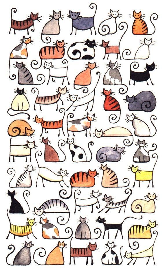 Quoth clipart doodle Time A5 print images Pinterest