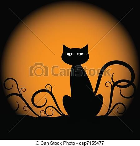 Quoth clipart haha Of Clipart Silhouette Halloween on