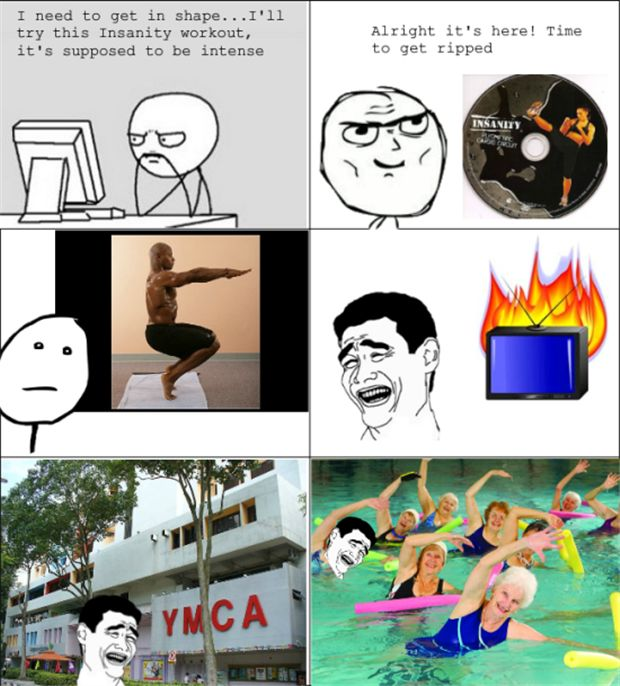 Quoth clipart life fitness Insanity on best Fitness Funny
