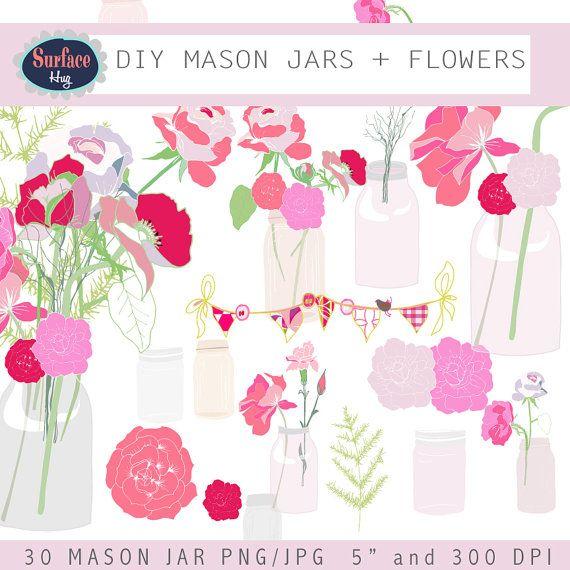 Quoth clipart scrapbook Clip Illustration Flower Hand Floral