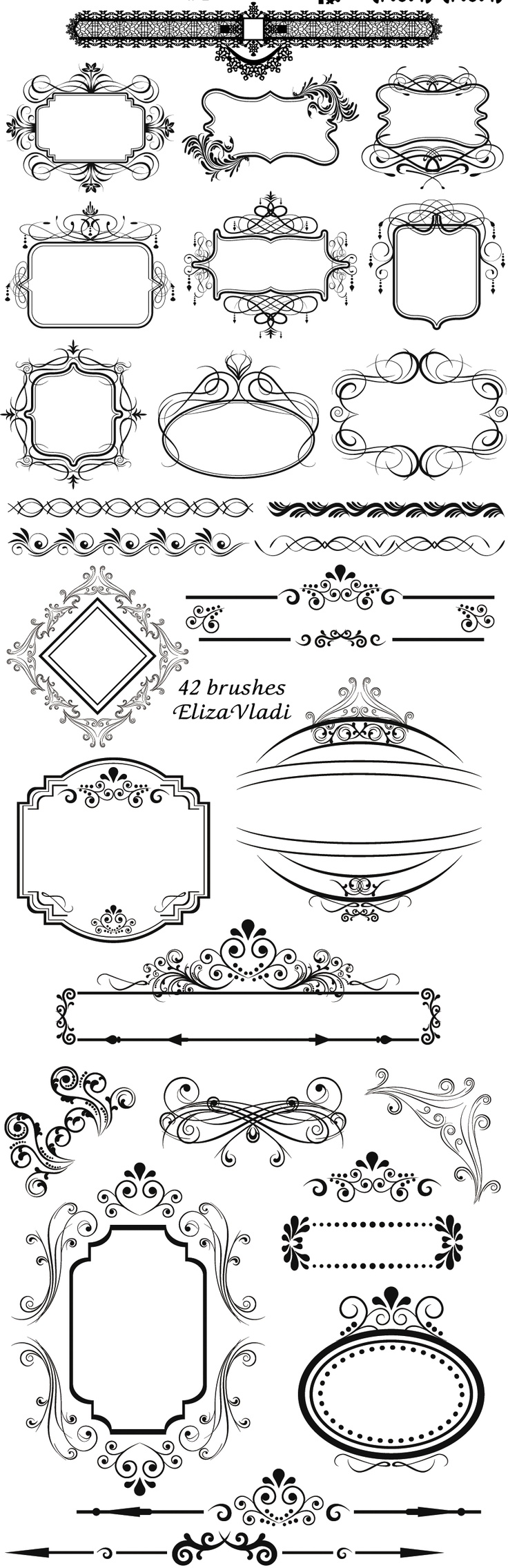 Quoth clipart text box Images on frames  Vintage