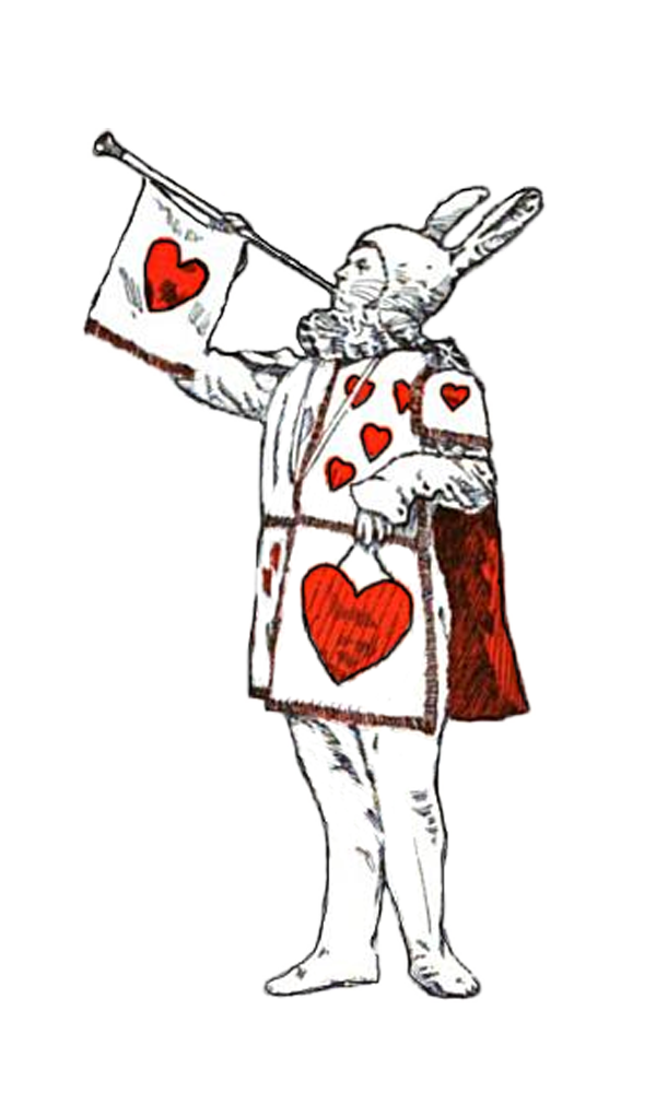 Classic clipart alice in wonderland Free from art in fun