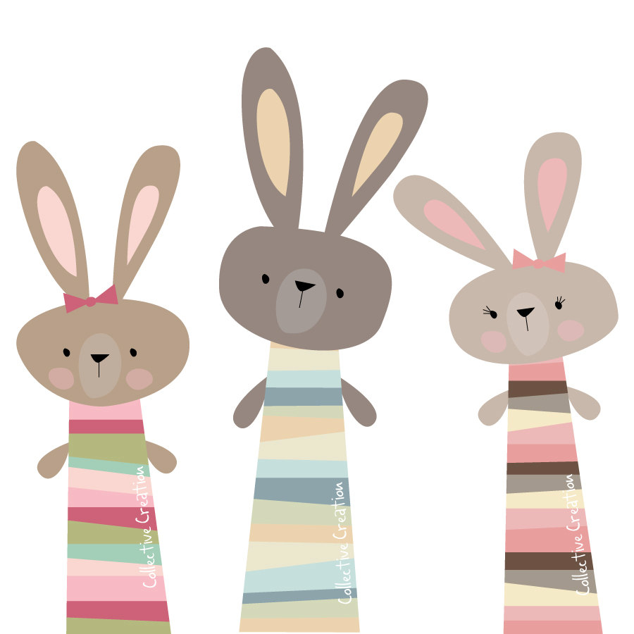 Rabbit clipart little *Collective Creation* ClipartBunny Easter