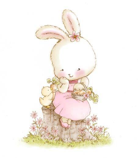 Rabbit clipart little Little images best Petit Bunny