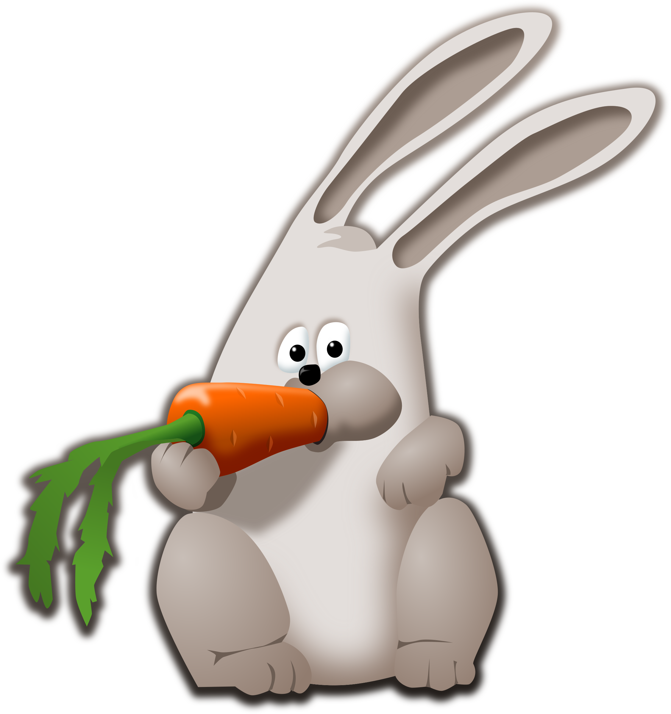 Carrot clipart big Carrot carrot eating Clipart bunny