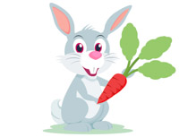 Carrot clipart big Clipart Kb with Teaching character
