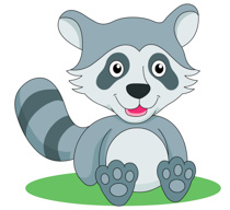 Raccoon clipart Clipart Raccoon Clip Size: Free