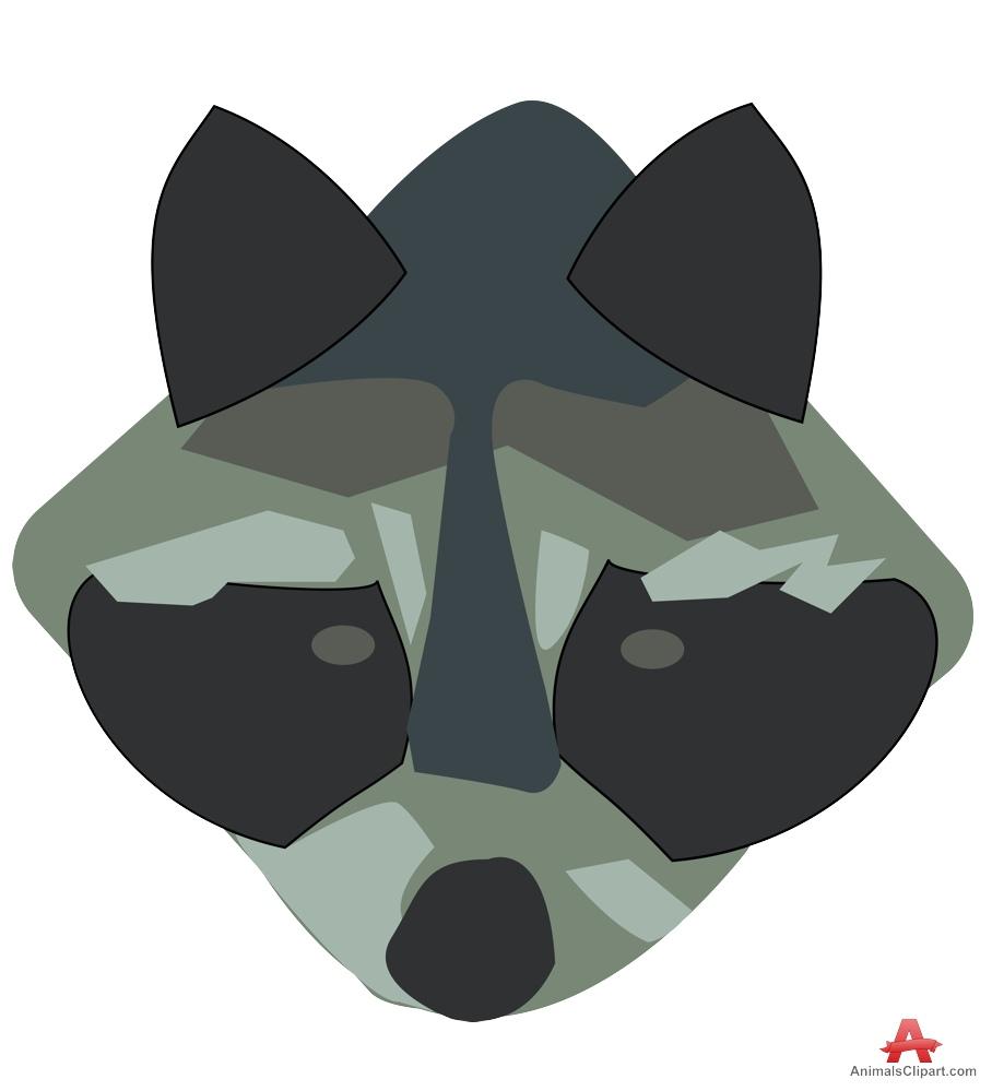Raccoon clipart face Face Design Raccoon Raccoon Face