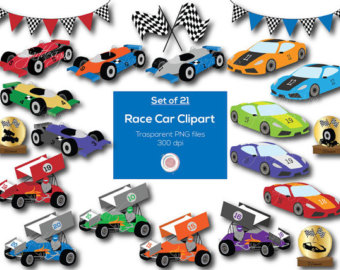 Racer clipart cute And Digital Clipart Cars Clipart