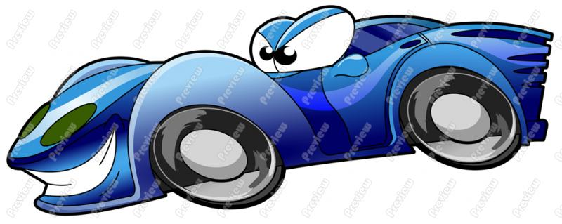 Race Car clipart blue Race Art Royalty Character