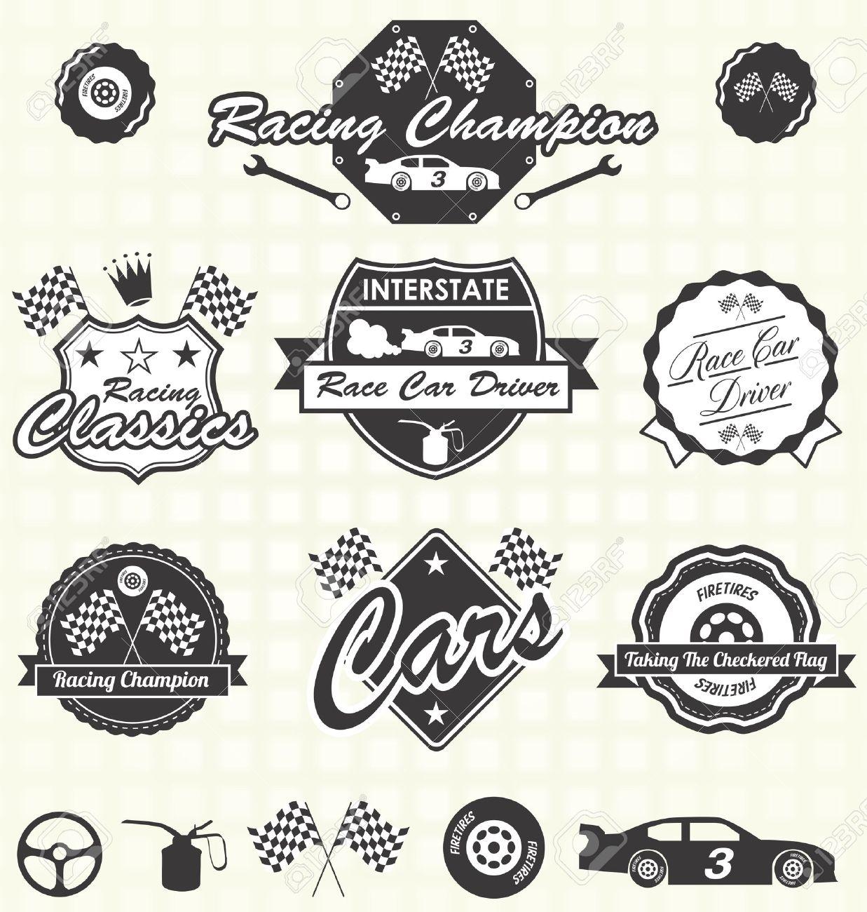 Race Car clipart classic car Classic 45 Car Illustrations collection