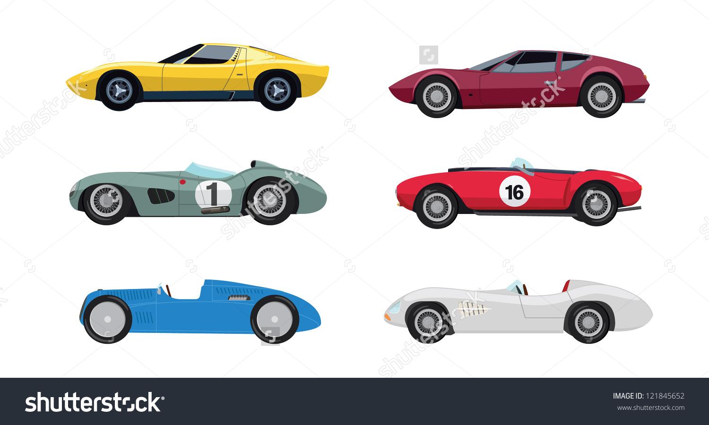Race Car clipart classic car Clipart Race view car clipart