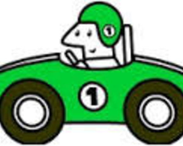 Race Car clipart green Clip Illustrations Race art Car