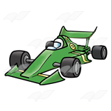 Race Car clipart green Art #5 Abeka Clip Racecar