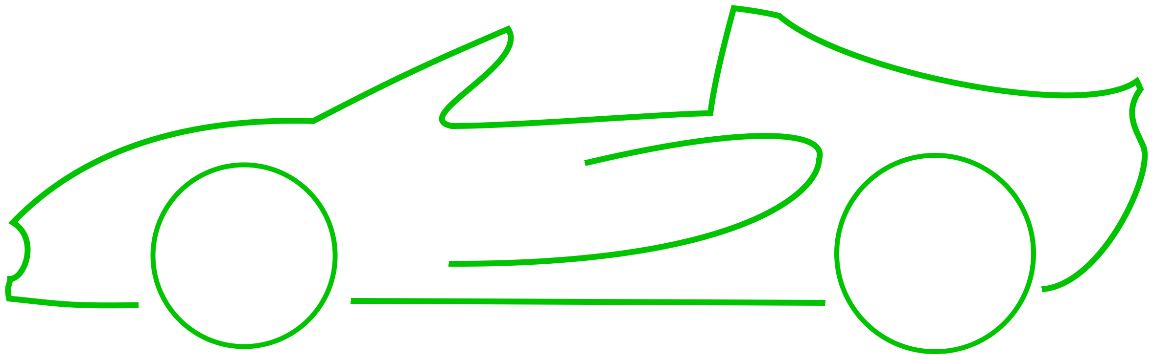 Drawn race car outline Free  Clip Pix Outline