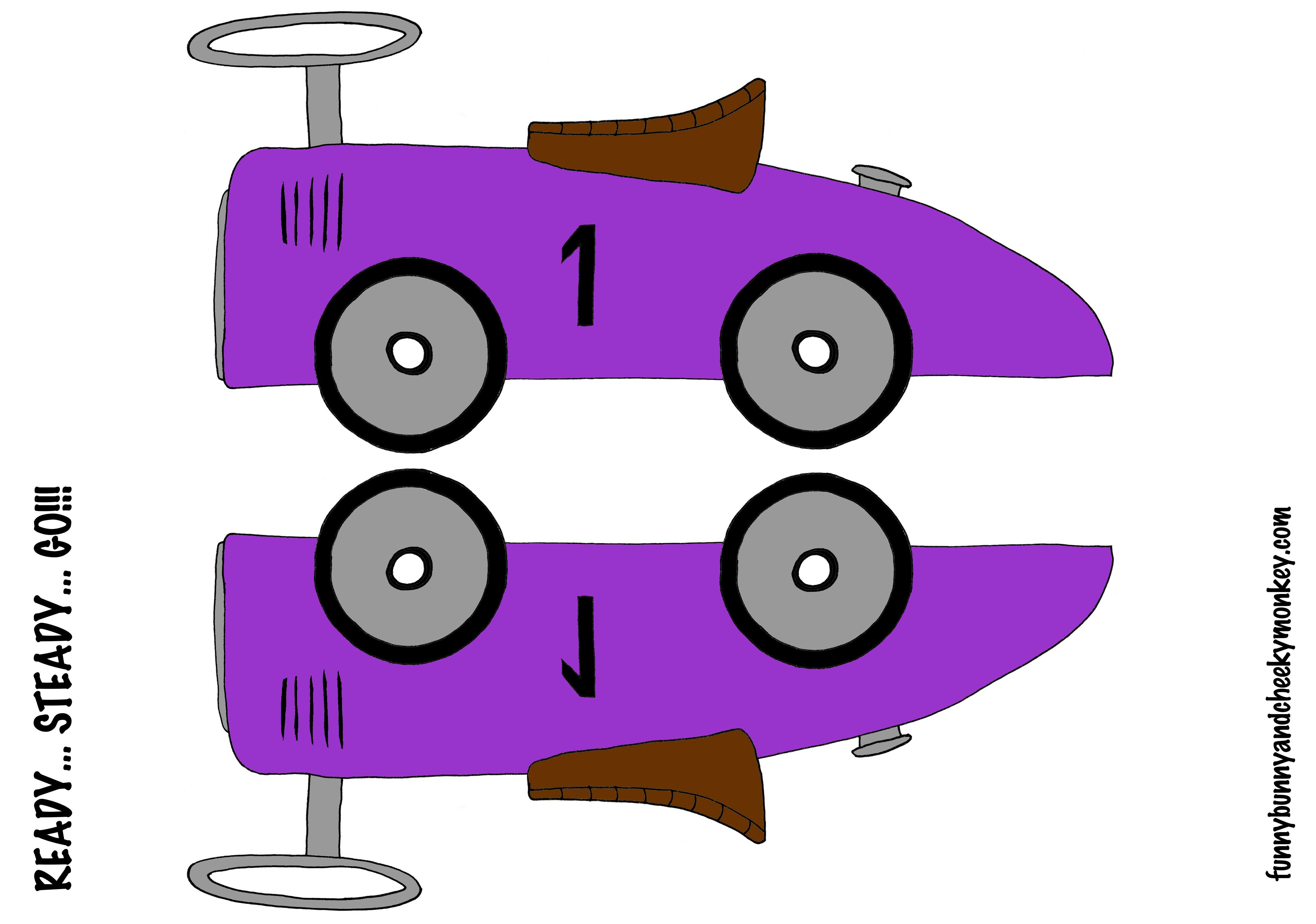 Race Car clipart purple Bunny and Picture Cheeky Funny