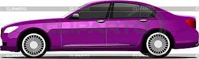 Race Car clipart purple Vector Vector Stock © Image