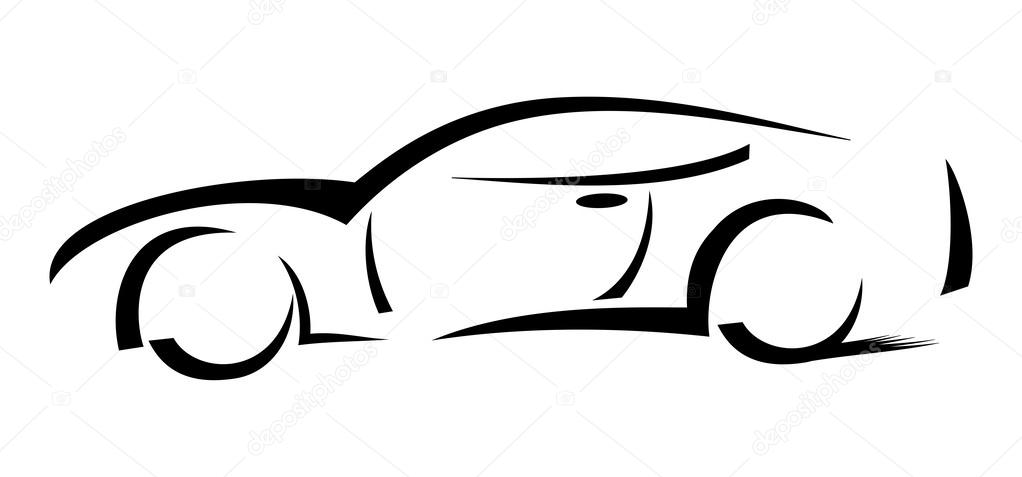 Race Car clipart silhouette Silhouette sanadesign  car Racing