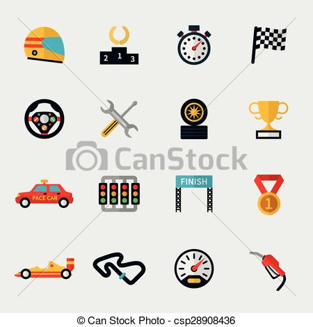 Race Car clipart speedway Racing Race car Clipart icons