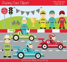 Racer clipart cute Car Scrapbooking €3 comes Racing