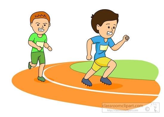 Race clipart Clip Art Race Art Running