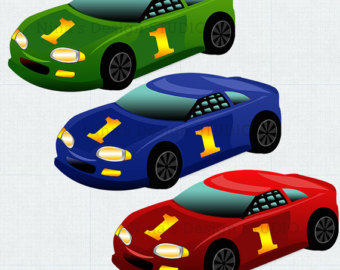 Blue Car clipart racing car Clipart Car collection car Car