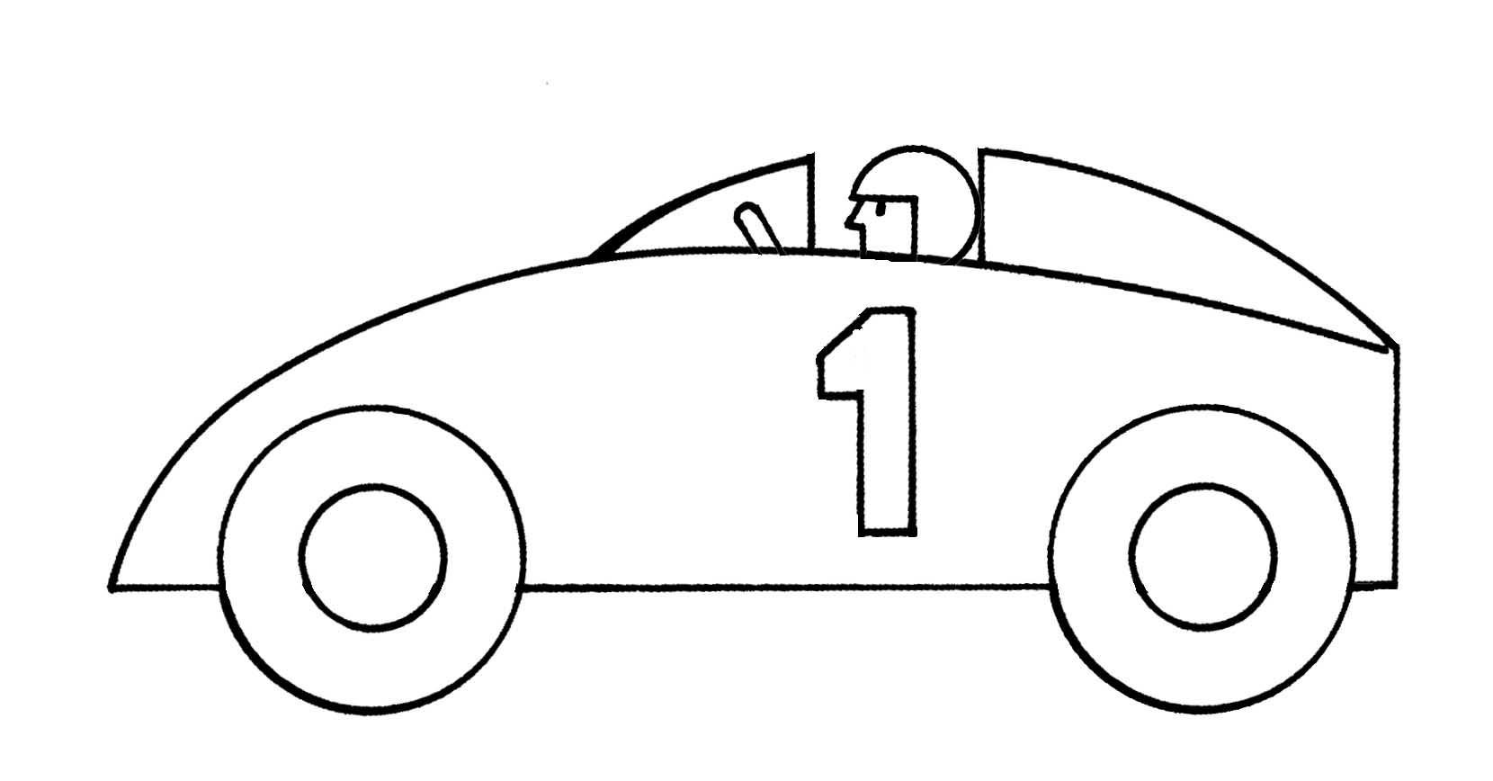 Simple clipart race car Images art Clipartix racing 2