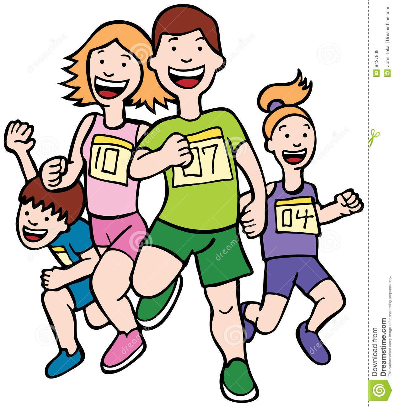 Race clipart excellence A Images Panda Race girl%20running%20race%20clipart