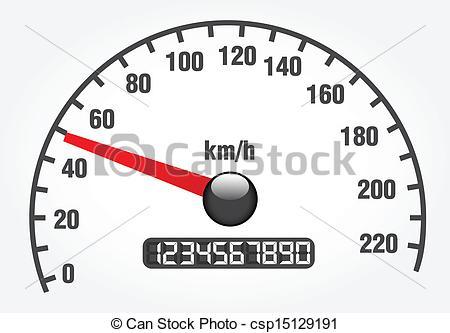 Speedometer clipart Art  045 2 Vector