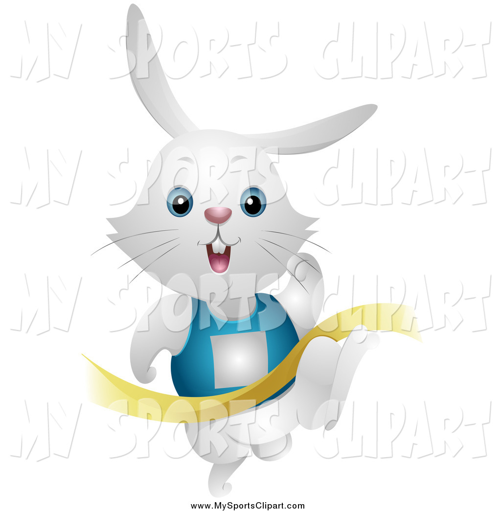 Race clipart bunny Art Clip a Finishing of