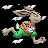 Race clipart bunny Rabbit Art Clip Abeka Racing