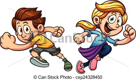 Race clipart child athletics  art images 452 running