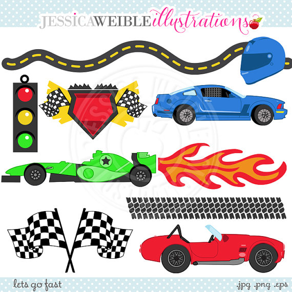 Hot Wheels clipart vehicle Lets Digital Cute FAST Use