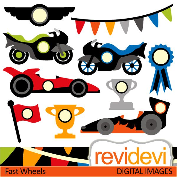Race clipart fast #10