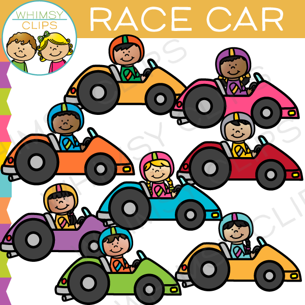 Racer clipart racing car  Car Illustrations Car Clips