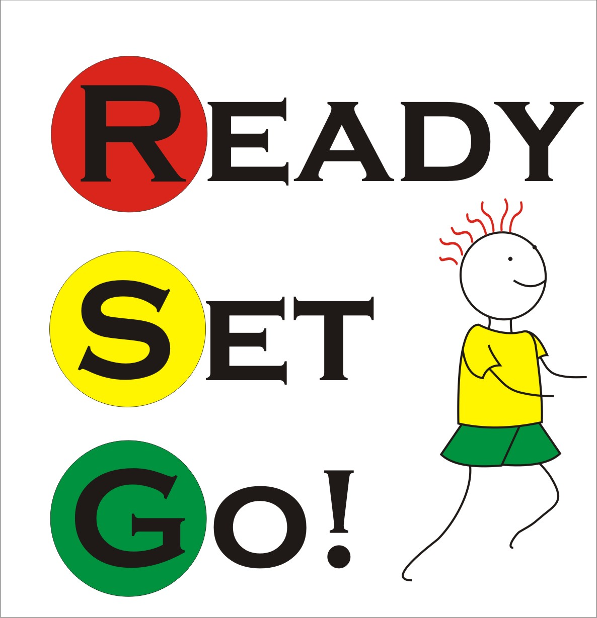 Racing clipart get ready Humans ready you Clipart race