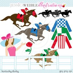 Racing clipart get ready Derby Horses Racing for the