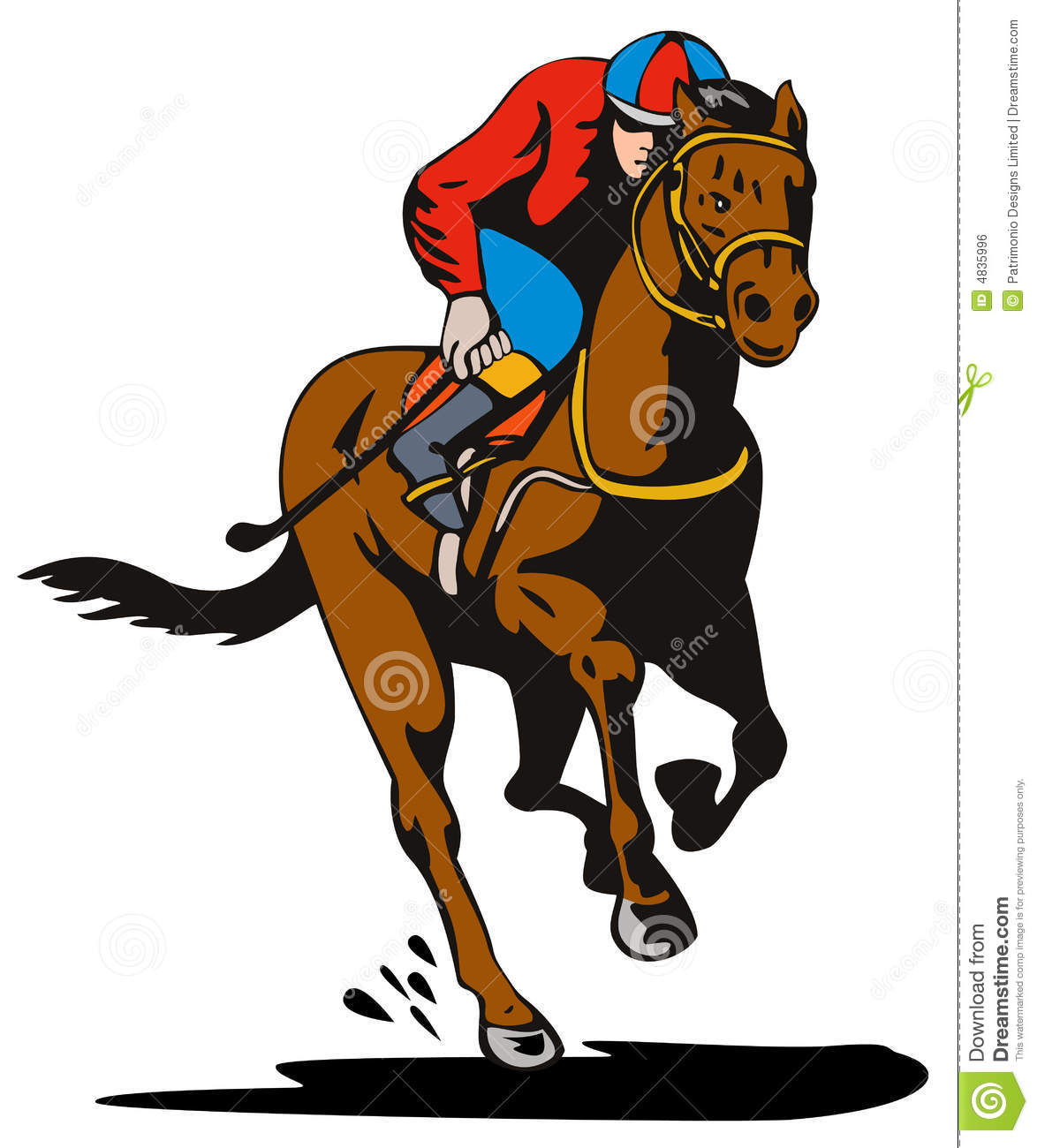 Horse Riding clipart horse jockey Seabiscuit Clipart horse Racing Truths