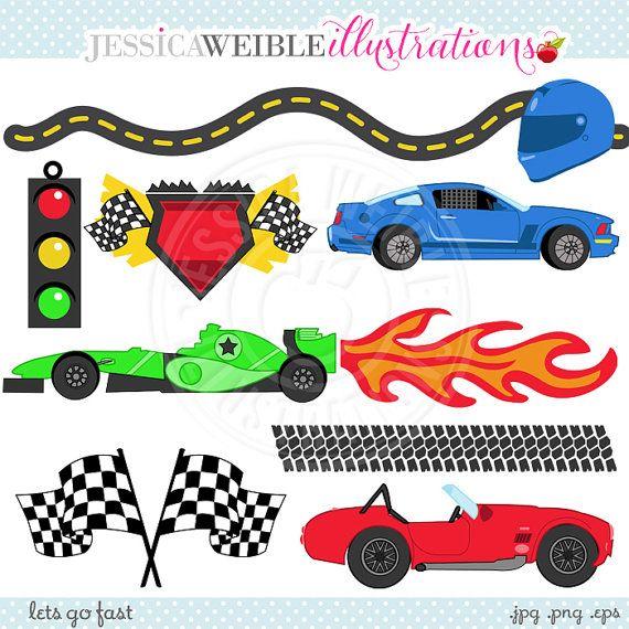 Racer clipart cute Race Clipart Race OK Flag