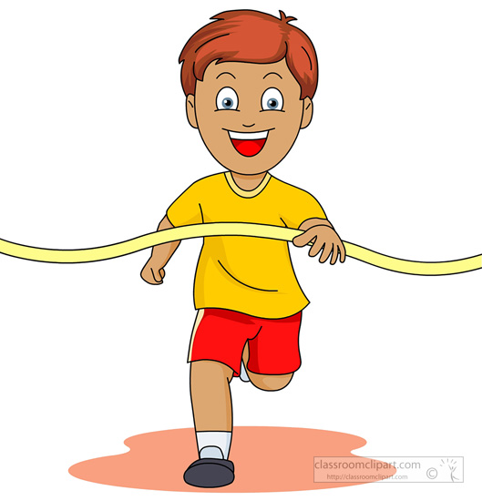 Racer clipart finish line Crossing clipart Field finish And