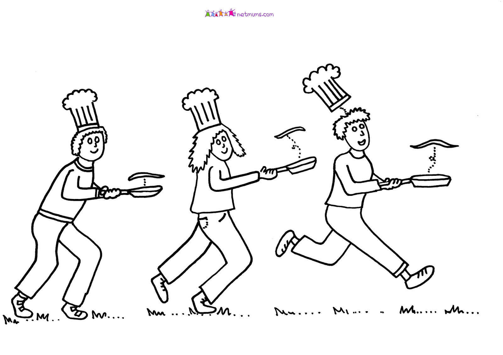 Race clipart pancake day Bilingual Bilingual Blog: DAY FEBRUARY: