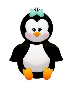 Mother And Baby clipart penguin Homecoming Donna The WINTER ART