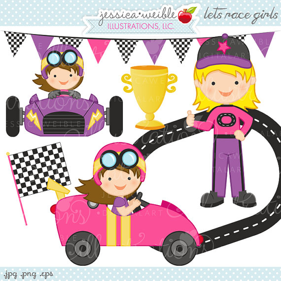 Race Car clipart pink Download Art Free Art Racer