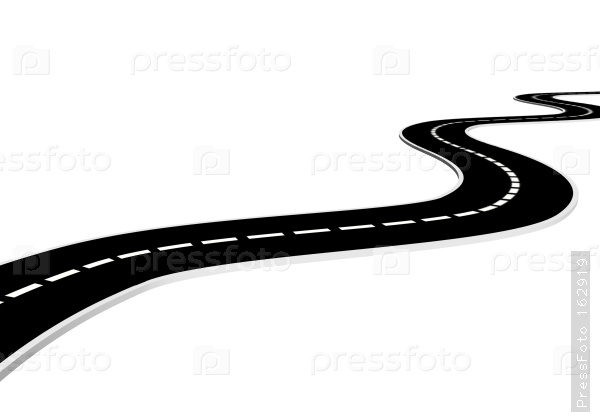 Road clipart horizontal road #2