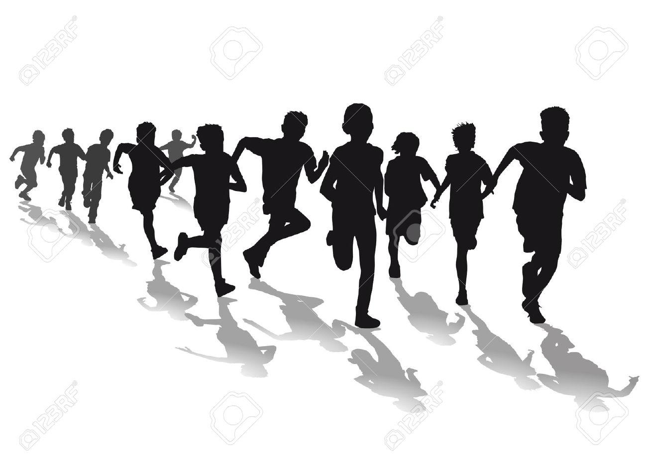 Race clipart run a #8