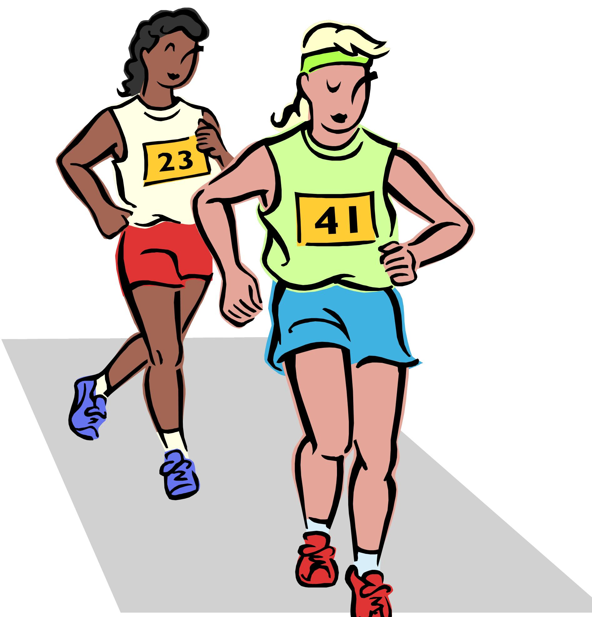 Race clipart run a Image Image running « result