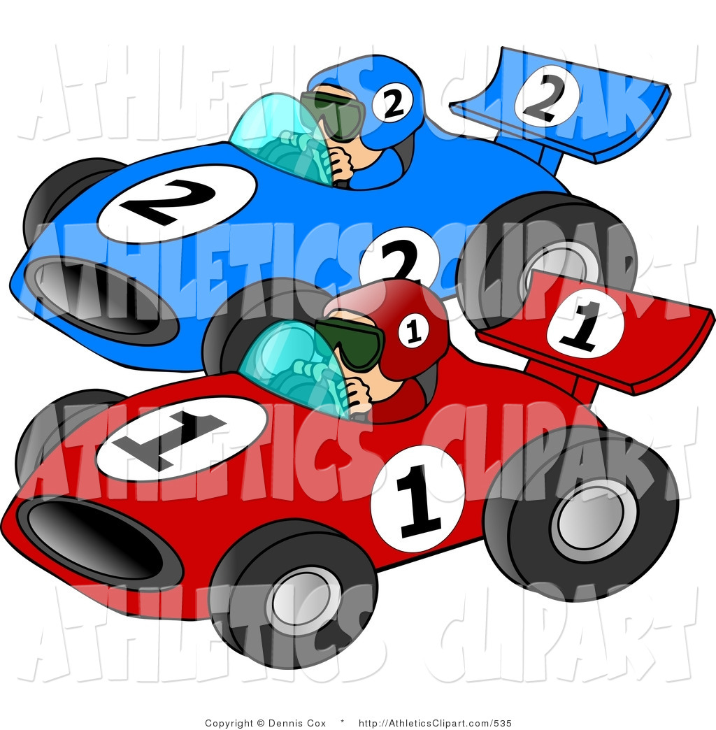 Racing clipart speedway Cars Racing Art a Cars