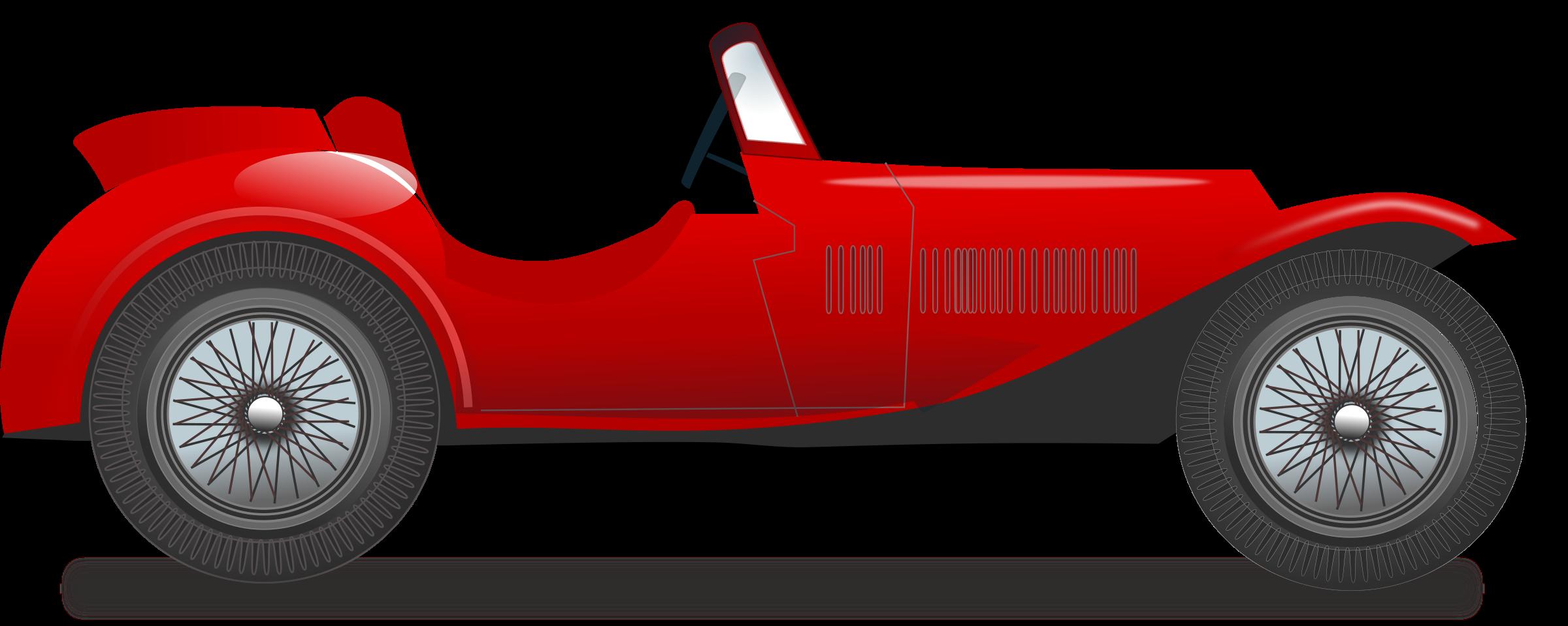 Classic Car clipart racing car Vintage race BIG Clipart car