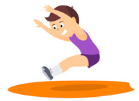 Race clipart track and field Track 47 Clip Kb race