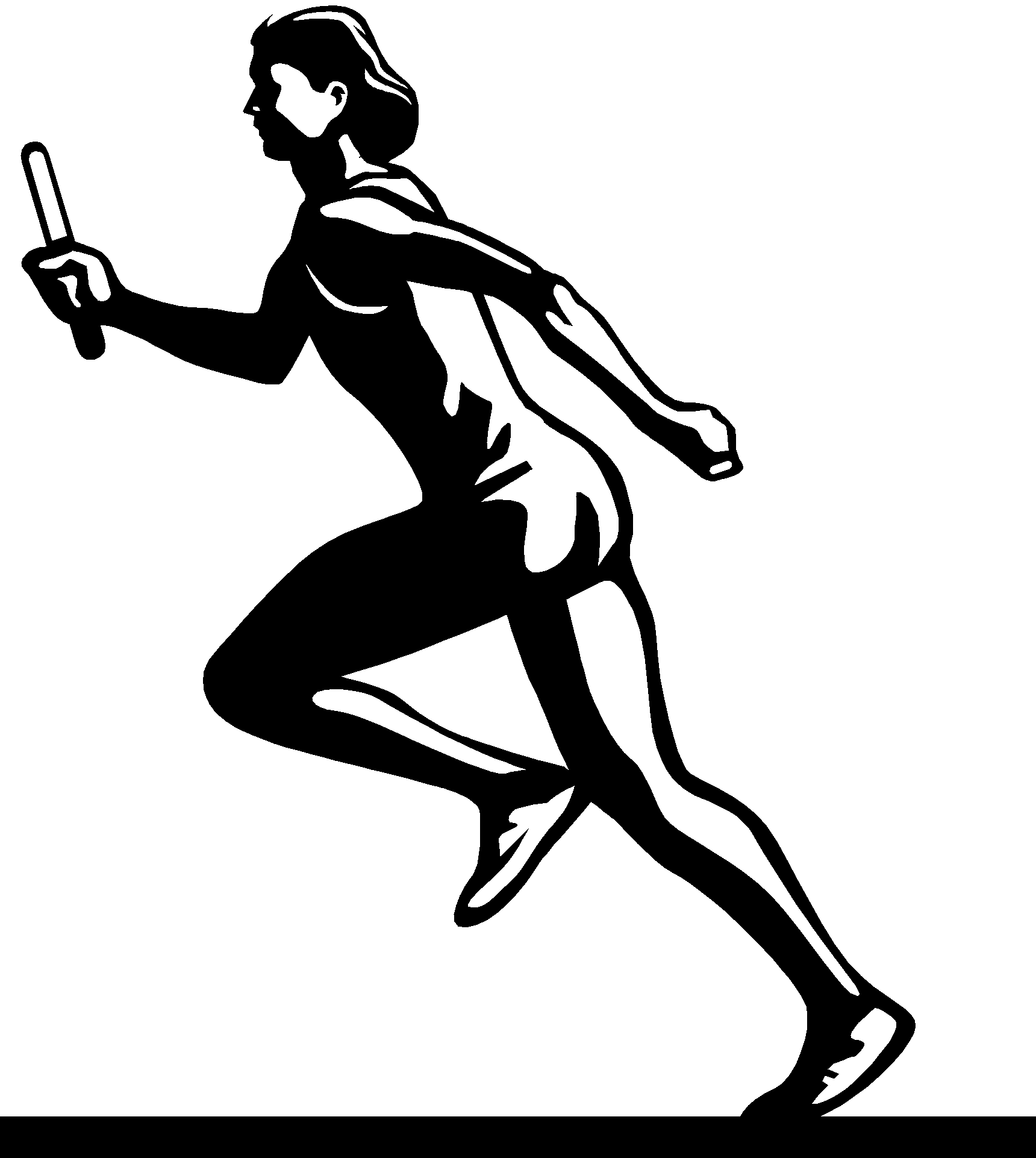 Symbol clipart track and field Running Track Best collection track